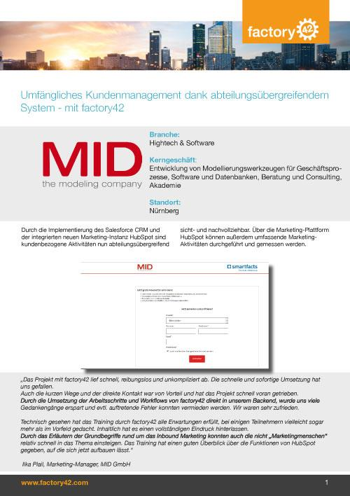 MID Referenz als PDF downloaden